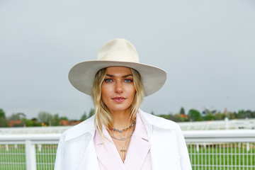 Jessica Hart Celebrities Attend 2018 Caulfield Cup Day