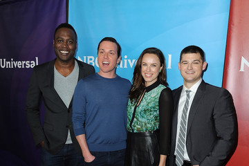 Jessica McNamee Kevin Bigley NBCUniversal's Winter TCA Tour: Day 1