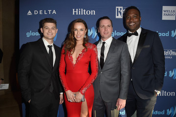 Jessica McNamee Michael Mosley Red Carpet - 26th Annual GLAAD Media Awards