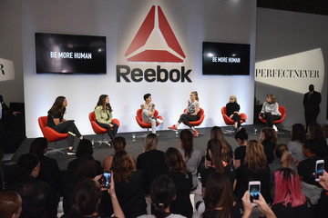 Jessica Mendoza Reebok and Gigi Hadid Present #PerfectNever Revolution - Panel Discussion