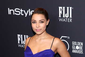 Jessica Parker Kennedy FIJI Water at the Hollywood Foreign Press Association and InStyle's Celebration of the 2018 Golden Globe Awards Season