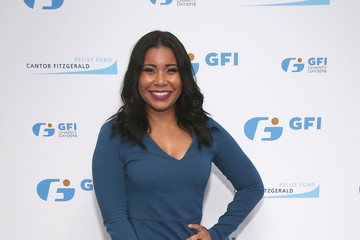 Jessica Pimentel Annual Charity Day Hosted By Cantor Fitzgerald, BGC and GFI - GFI Office - Arrivals