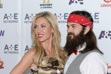 Jessica Robertson Jep Robertson Arrivals at the A+E Networks Upfront