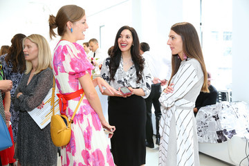 Jessica Rose Bassima Mroue Diane Von Furstenberg And LinkedIn Host An In Charge Luncheon