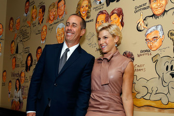 Jessica Seinfeld Jerry Seinfeld Hosts a Lunch