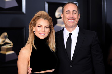 Jessica Seinfeld 60th Annual GRAMMY Awards - Red Carpet