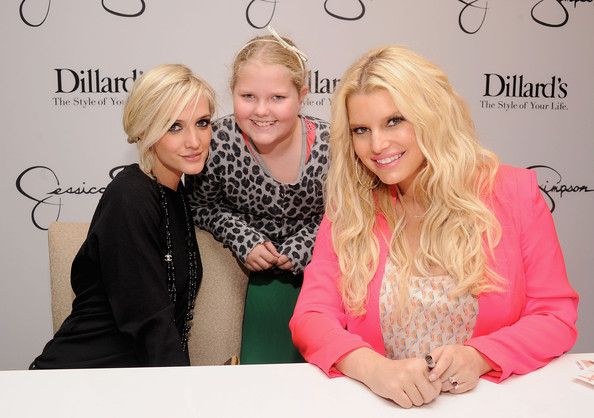4c80ce0740b3 Jessica And Ashlee Simpson Visit Dillard's International Plaza In Support  Of the Jessica Simpson Collection