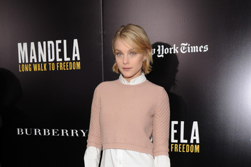 Jessica Stam 'Mandela: Long Walk to Freedom' Screening in NYC — Part 2