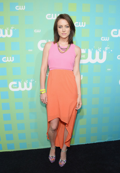 Jessica Stroup - The CW Network's New York 2012 Upfront