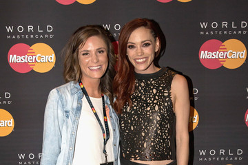 Jessica Sutta MasterCard and Westwood One Backstage Lounge at the Staples Center