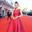 """Jessica Wang """"Illusions Perdues"""" Red Carpet - The 78th Venice International Film Festival"""