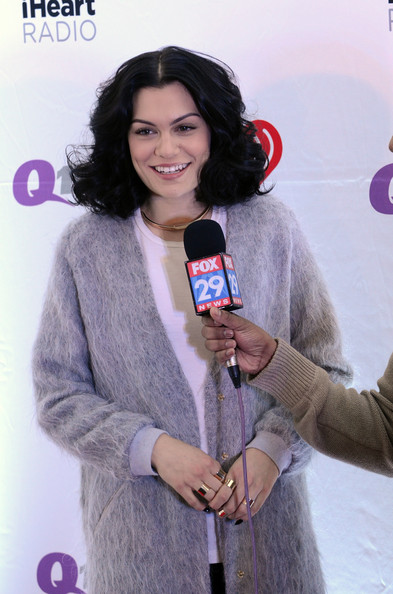 Backstage at Q102's Jingle Ball  [long hair,photography,flooring,selfie,black hair,jessie j,philadelphia,pennsylvania,wells fargo center,q102,jingle ball,jingle ball 2014]