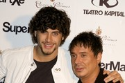 Jesus Luz (L) and Nano Barea (R) attend the Sala Kapital Halloween party on October 31, 2010 in Madrid, Spain.