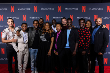 Jharrel Jerome Asante Blackk Netflix'x FYSEE Event For 'When They See Us'