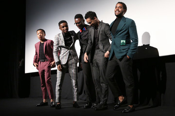 Jharrel Jerome Ethan Herisse World Premiere Of Netflix's 'When They See Us'