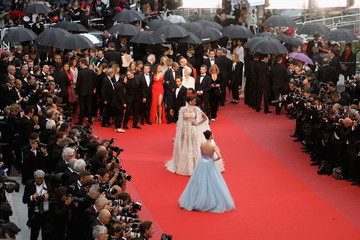 Jiang Mengjie 'Burning (Beoning)' Red Carpet Arrivals - The 71st Annual Cannes Film Festival