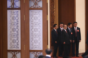 Jiang Zemin China's National Day Reception