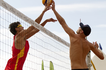 Jiaxin Wu 2013 Hilton HHonors Beach Volleyball Challenge - Day 1