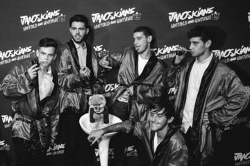 Jiff the Pomeranian Guests Attend the Premiere of Awesomeness TV's 'Janoskians: Untold and Untrue'