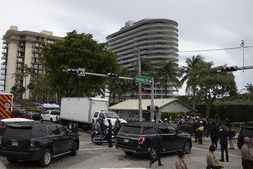 Jill Biden Residential Building In Miami Partially Collapsed