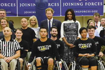 Jill Biden Joining Forces Invictus Games 2016 Launch Event