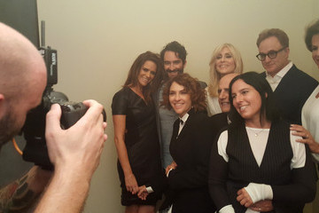 Jill Soloway Alexandra Billings Behind The Scenes Of The Getty Images Portrait Studio Powered By Samsung Galaxy At 2015 Summer TCA's