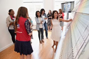 Jillian Harris HGTV Home By Sherwin-Williams and Lowe's NYC Press Event