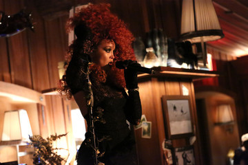 Jillian Hervey Saks Fifth Avenue Hosts A Special Performance By Lion Babe At Le Chalet At L'Avenue At Saks