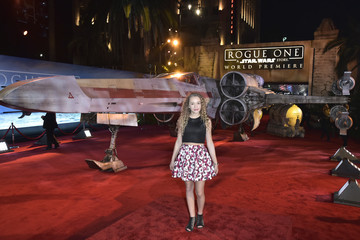 Jillian Shea Spaeder The World Premiere of 'Rogue One: A Star Wars Story'