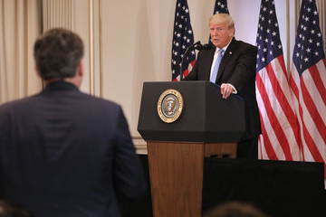 Jim Acosta President Trump Holds News Conference In New York