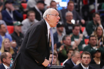 Jim Boeheim NCAA Basketball Tournament - Second Round - Detroit