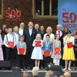 Jim Broadbent The Duchess Of Cornwall Attends The 500 Words Final