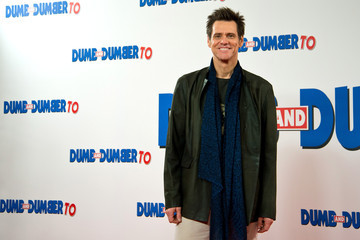 Jim Carrey 'Dumb and Dumber To' Photo Call in London