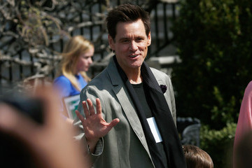 Jim Carrey Annual White House Easter Egg Roll