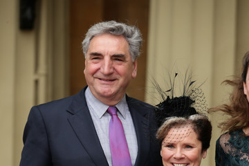 Jim Carter Investitures At Buckingham Palace