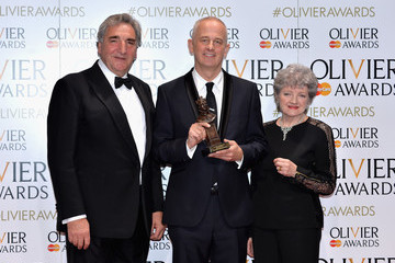 Jim Carter The Olivier Awards with Mastercard - Winners Room