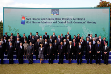 Jim Flaherty G20 Finance Ministers & Central Bank Governors Meeting Takes Place In Seoul
