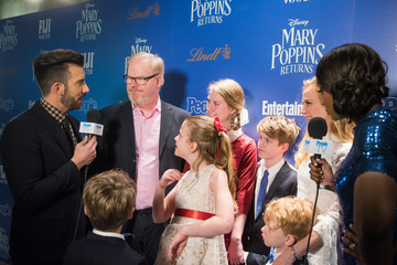 Jim Gaffigan The Cinema Society's Screening Of 'Mary Poppins Returns' Co-Hosted By Lindt Chocolate