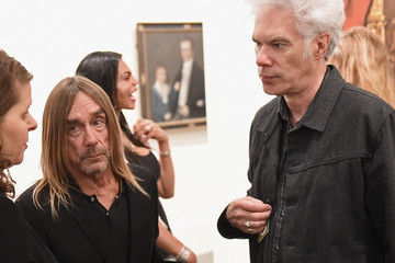 Jim Jarmusch Brooklyn Museum Celebrates Marilyn Minter And Iggy Pop at Opening Night Event