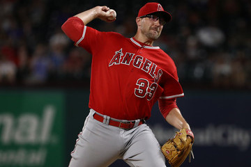 Jim Johnson Los Angeles Angels of Anaheim  v Texas Rangers