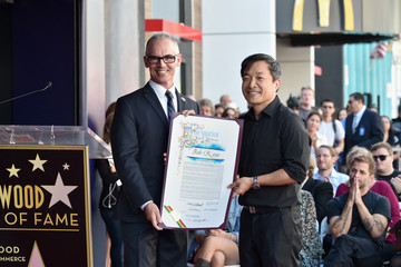 Jim Lee  Bob Kane Honored with Star on the Hollywood Walk of Fame