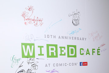 Jim Lee  2017 WIRED Cafe At Comic Con, Presented By AT&T Audience Network - Day 1