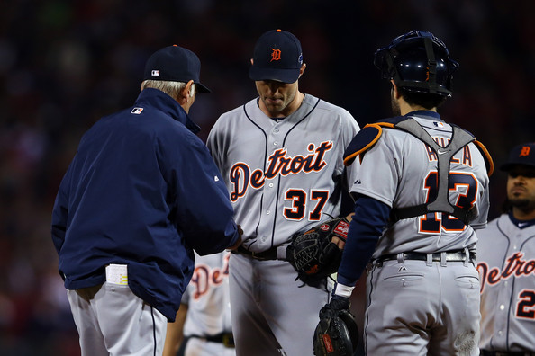 ALCS - Detroit Tigers v Boston Red Sox - Game Six