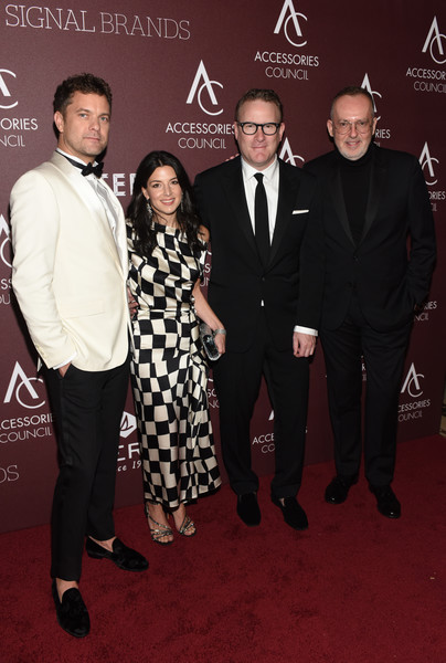 23rd Annual ACE Awards [event,premiere,suit,red carpet,carpet,flooring,tuxedo,formal wear,award,guest,joshua jackson,jim moore,todd snyder,ace awards,l-r,new york city,cipriani 42nd street,annual ace awards]