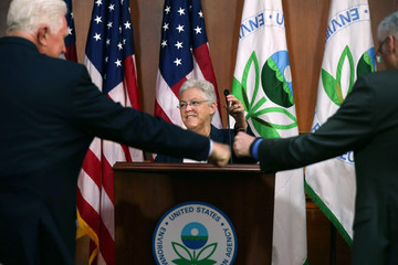 Jim Moran Gina McCarthy Announces New Regulations