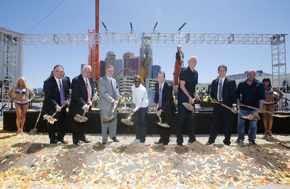 MGM Resorts and AEG Break Ground