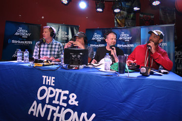 Jim Norton Anthony Cumia SiriusXM's Opie & Anthony Special Live Broadcast Event In Chicago