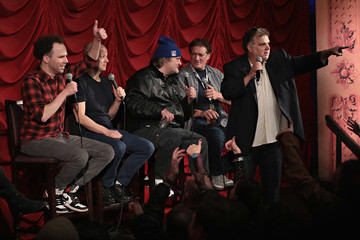 Jim Norton Anthony Cumia SiriusXM Host Ron Bennington Is Joined By Fellow Comedians During His Annual Thanksgiving Special at New York's Hard Rock Cafe