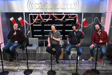 """Jim Norton Rich Vos The Jim & Sam Christmas Special On SiriusXM """"Faction Talk"""" Channel"""