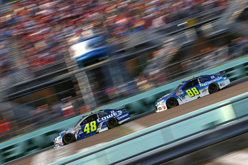 Jimmie Johnson NASCAR Sprint Cup Series Ford EcoBoost 400